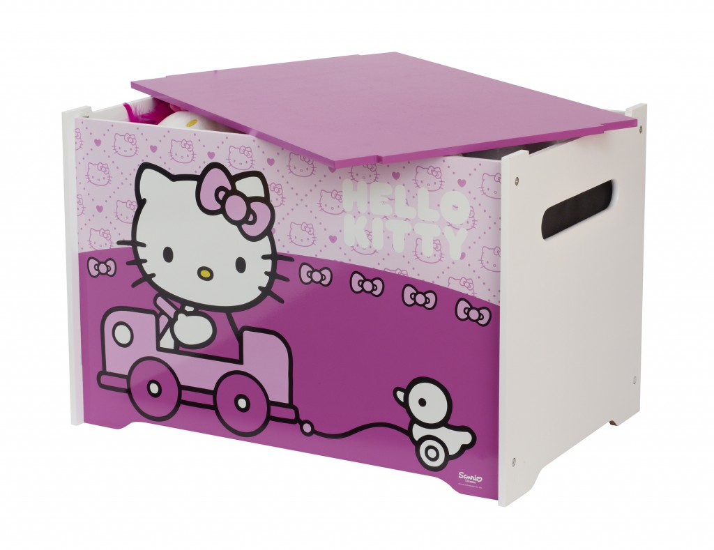 Coffre à jouets Hello Kitty