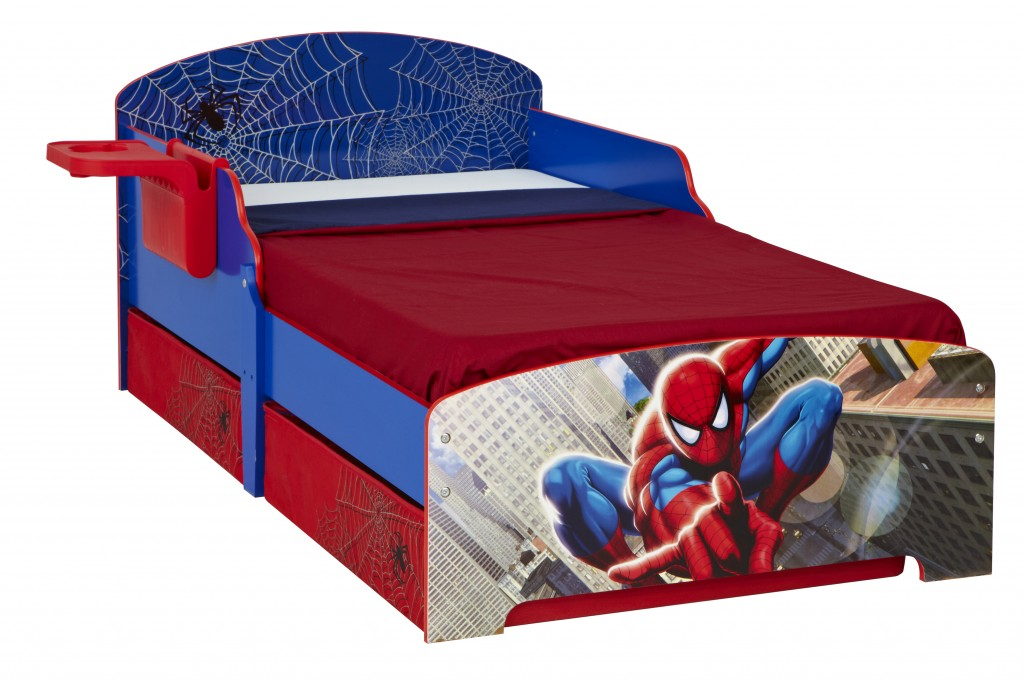 lit spiderman. Black Bedroom Furniture Sets. Home Design Ideas