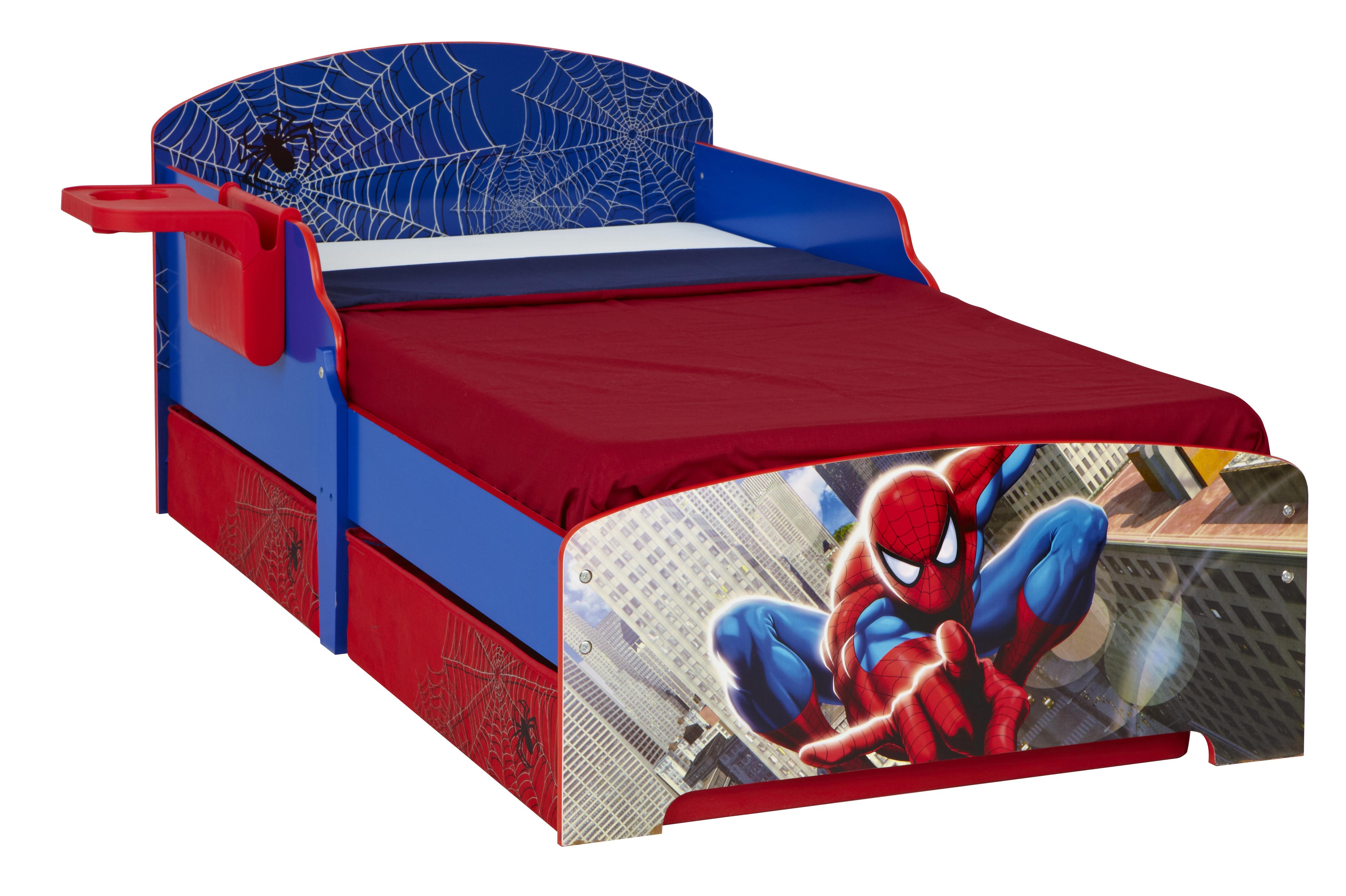 lit spiderman. Black Bedroom Furniture Sets. Home Design Ideas