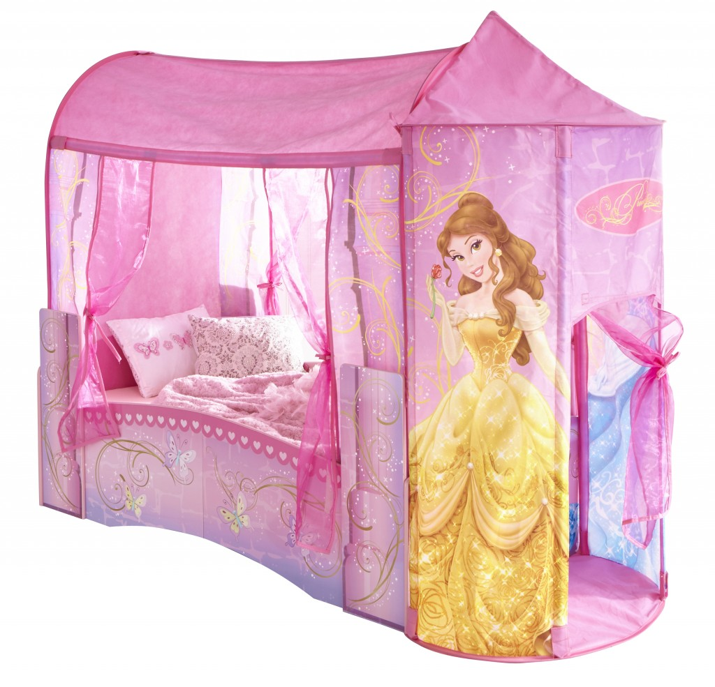 lit princesse disney et ses accessoires. Black Bedroom Furniture Sets. Home Design Ideas