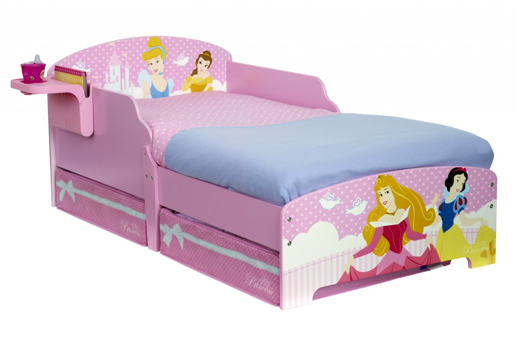 864220 wa 499DPS DP TODDLER BED WITH STORAGEl