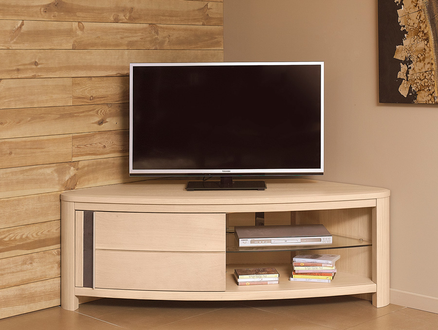 Nouvelle collection boston de lou design for Meuble tv angle moderne