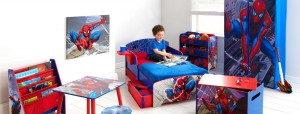 863809 WA 490SPD Spiderman Bed Tent Pack