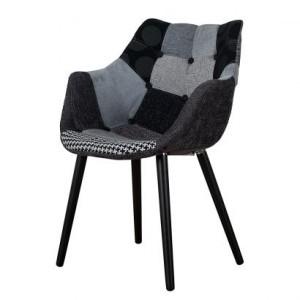 polsterstuhl-eleven-patchwork-grau-schwarz-366630