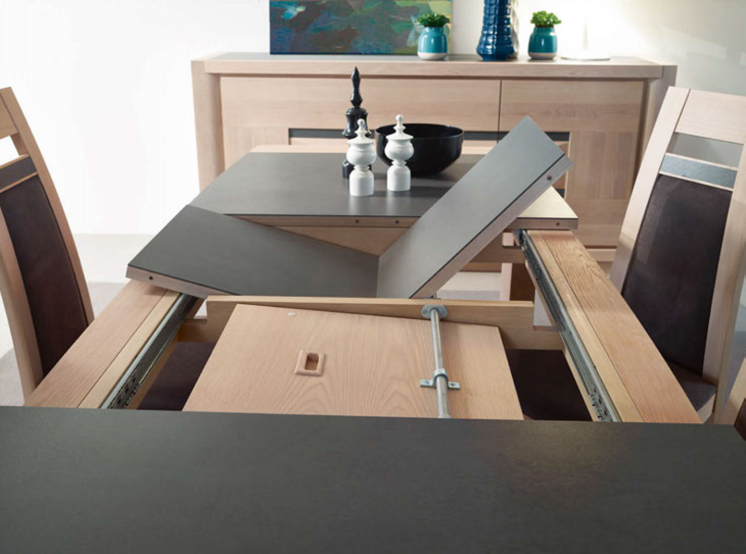 Awesome table salle a manger plateau ceramique 6 for Table salle a manger design ceramique