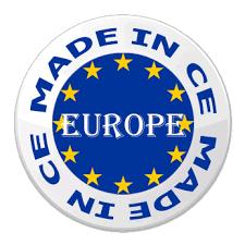 logo fabriqué en Europe