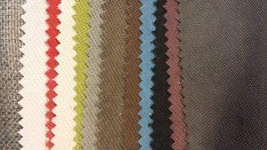 Différentes teintes de tissus pour le canapé confortluxe