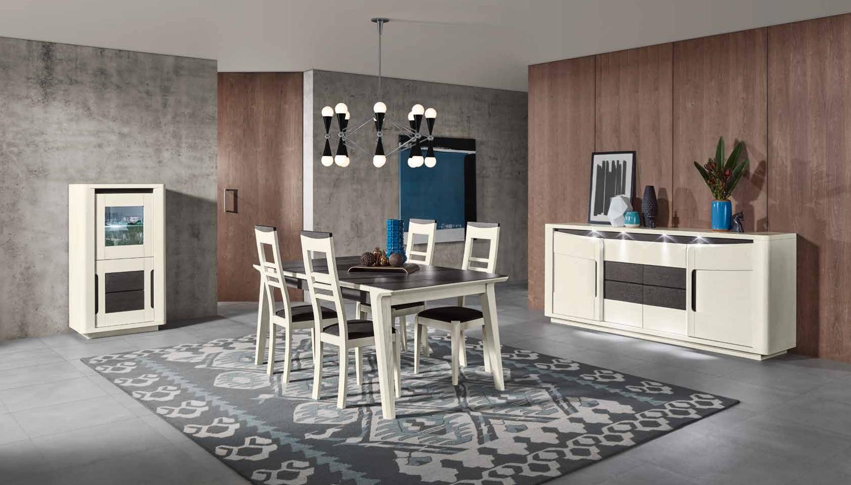 La sublime collection bella fait son entr e chez meubles jem for Salle a manger futuriste