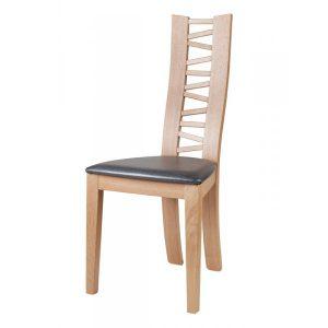 Chaise contemporaine en bois