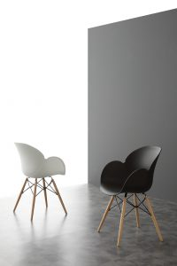 Chaise style scandinave de La seggiola