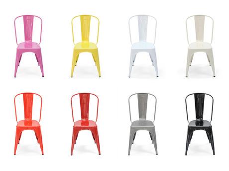 Chaise Tolix de toutes les couleurs