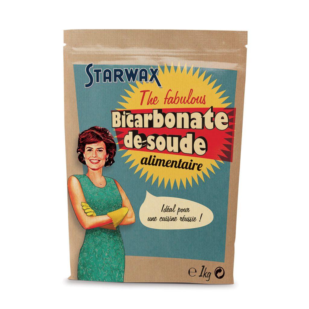 paquet de 1kg de bicarbonate de soude alimentaire