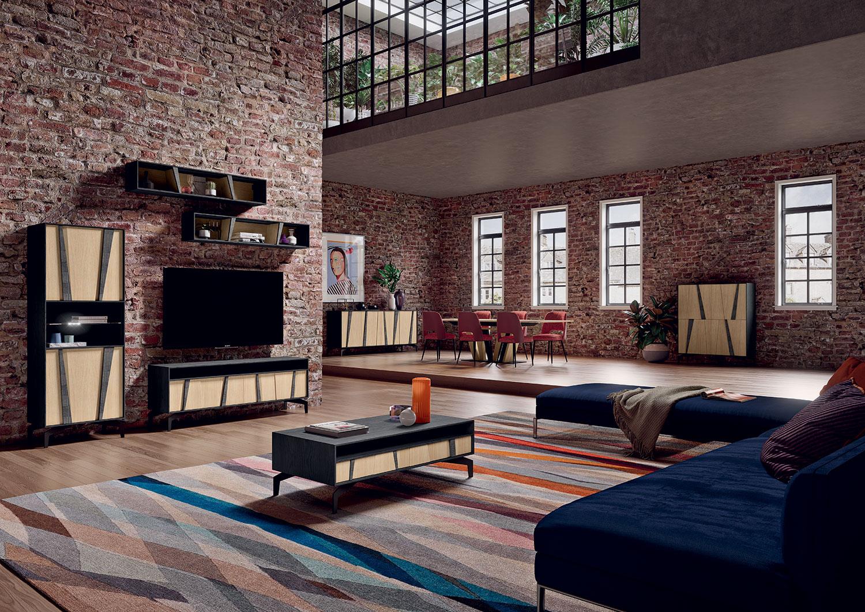 meuble tv ZIGZAG